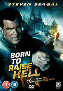 Born to Raise Hell DVD Steven Seagal Movie Action - SAME / NEXT DAY POST