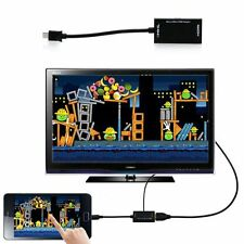 MHL Micro USB to HDMI TV AV Cable Adapter HDTV for Samsung Galaxy  Cell Phone
