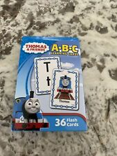 New Thomas & Friends🚂 A*B*C Learning Flash Cards 36 Cards Ages 3+ 🆕🆓 shipping