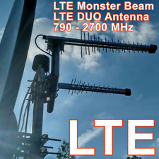 4G LTE MONSTER BEAM ANTENNA, 800/1800 MHz / 2600 MHz, connettore SMA + 3 G, WIFI