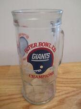 "New York Giants Super Bowl Xxi Champions 7"" Tall Glass Mug (Helmet Variation)"