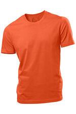 Hanes Hombre Liso Verano Peso Camiseta De Algodón Camiseta s-3xl No Logo