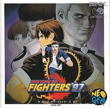 The king of Fighters 97 NEO GEO CD Import Japan