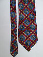 -AUTHENTIQUE cravate cravatte neuve ENRICO COVERI   100% soie   vintage