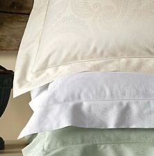 Sferra TASSO Boudoir Sham IVORY Egyptian Cotton Sateen Jacquard New