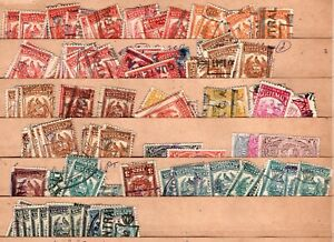 Guatemala Tax Revenue Timbre Used Stamp Collection - Dealer's Stock
