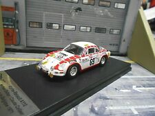 RENAULT Alpine A110 Rallye Tour de Belgique 1971 #69 Delbar B 1/150 Trofeu 1:43