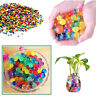 500 WATER AQUA SOIL CRYSTAL BIO GEL BALL BEADS WEDDING VASE FILLER CENTERPIECE