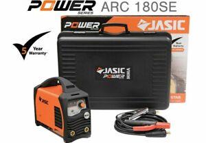 Jasic PRO ARC 180 SE 180amp MMA Electrode Inverter Welder Generator Friendly 230