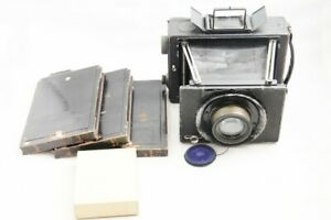 READ ERNEMANN WERKE in DRESDEN Camera w/Carl Zeiss Jena 16.5cm F4.5 #1646