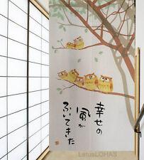 Lovely Cute Owls Home Decor Door Curtain Japanese Noren Doorway Curtain 26