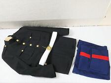 #44 USMC MARINES SERVICE PARADE DRESS UNIFORM JACKET 42R + TROUSERS 35R