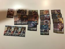 Cardfight Vanguard Standard Kagero Deck Aermo Barri Waterfall Signed Kai Marker