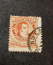 Argentina   Stamp Scott# 18 Rivadavia  1867-68  L98