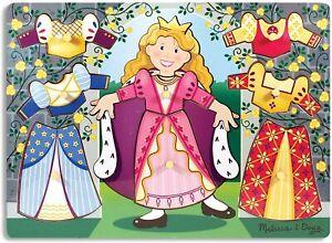 Melissa & Doug Puzzle Princess Dress-Up Mix N Match Wooden Toys Montessori