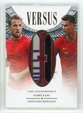 2020 Harry Kane Cristiano Ronaldo 23/35 Jersey Futera Unqiue Versus