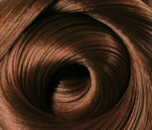 CINNAMON Dark Auburn Ginger Brown Saran Doll Hair for Custom Reroots