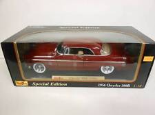 Maisto 1956 Chrysler 300 B Red (Die-cast - 1:18 Scale)
