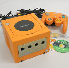 Game Cube Orange Console System wz 5 Games FREE SHIPPING NTSC-J DN12271430