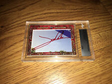 Jon Rahm & Sergio Garcia 2018 Leaf Masterpiece Cut Signature signed card 1/1 JSA