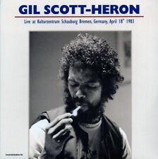 SEALED NEW LP Gil Scott-Heron - Live At Kulturzentrum Schauburg Bremen, Germany,