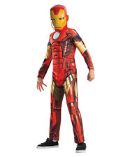 "Iron Man Kids Dlx Avengers Muscle Chest Costume,Medium,Age 5-7,HEIGHT 4'2""-4'6"""