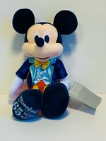 Disneyland Resort 65 Years of Magic Mickey Mouse in Tuxedo Plush New With Tag