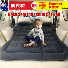 Inflatable Car Back Seat Mattress Protable Travel Camping Air Bed Rest Sleep A