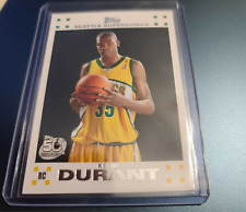 2007-08 Topps Kevin Durant Rookie Card RC #2 White Border.  PSA 10??