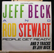 MAXIS 45 T - JEFF BECK AND ROD STEWART - PEOPLE GET READY