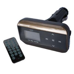 E05D Car MP3 Player Fm Transmitter USB SD Slot Line-In Aux Remote Control
