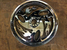 REVTECH INFERNO CUSTOM MAG WHEEL 17 x 6.25 CHROME 602656 Harley Dyna FX Touring