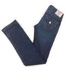 True Religion Women's 26 Jeans Billy Straight Leg Stretch Denim USA