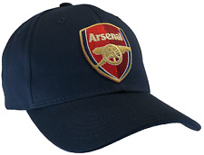 Arsenal Hat Blue Ball Cap 100% Cotton Structured