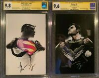 Action 1000 & Batman 50 CGC 9.8 9.6 SS Jock & Tom King Both Jock Virgin Variants