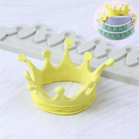 Mold Liquid Fondant Cake Mould Decoration Princess Crown Silicone Sugarcraft New