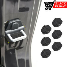 6Pcs Door Lock Cover Buckle Decor Trim For Jeep Wrangler Jl Jl Jt Accessories