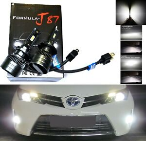 LED Kit G8 100W H7 4300K Stock Two Bulbs Fog Light Replacement Upgrade Fit Lamp