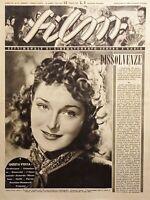 Rivista Cinematografo Teatro e Radio - Film N. 8 - Oretta Fiume - 1944