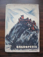 Bourscheid Les cahiers luxembourgeois No 1 1939 Paul Schroell Luxemburg Buch