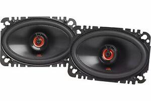 """NEW JBL 120 Watts Vibrant CLUB 6422F 4x6"""" 2-Way Coaxial Speakers 4"""" x 6"""" Plate"""