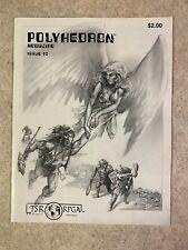 POLYHEDRON 1983 Issue 10 Volume 3 Number 1 RPGA Network TSR Newszine VF #T947