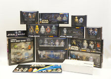 Kubrick Star Wars Box Sets lot of 12 (Limited Edition) Max Rebo Band / Jango