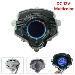 1x Motorcycle Modified RPM 14000 LCD Digital Display Odometer Speedometer Gauges