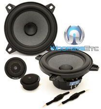 """FOCAL ISN100 4"""" CAR AUDIO 4 OHM 40W RMS COMPONENT SPEAKERS MIDS TWEETERS NEW"""