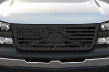 Steel Aftermarket Grille for Chevy Silverado 1500/2500 03-07 Truck Grill LIBERTY