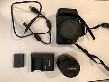 Canon EOS Rebel T7 24.1 MP - Black (Kit with 18-55 Lens)