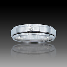 Bague Piaget Possession Or gris 18k et diamant brillant. Taille 52.