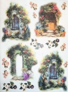 Rice Paper Magic Door for Decoupage Scrapbook and Crafting 764