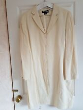 """MONSOON IVORY LONG JACKET - WEDDING / MOTHER OF THE BRIDE - STUNNING - BUST 44"""""""